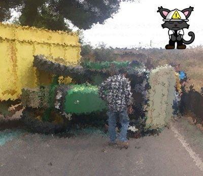 accidente vuelco tractor